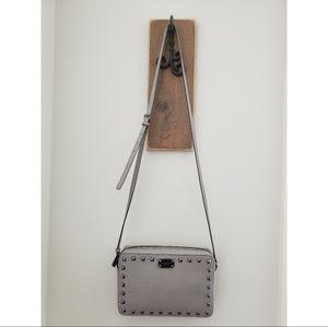Michael Kors Camera bag Gray w/ studs